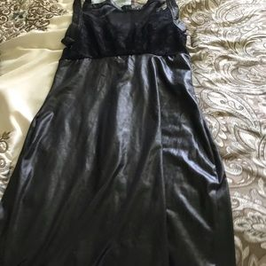 Other - Leather dress